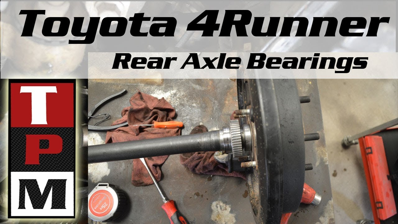 toyota tundra wheel bearing replacement guide