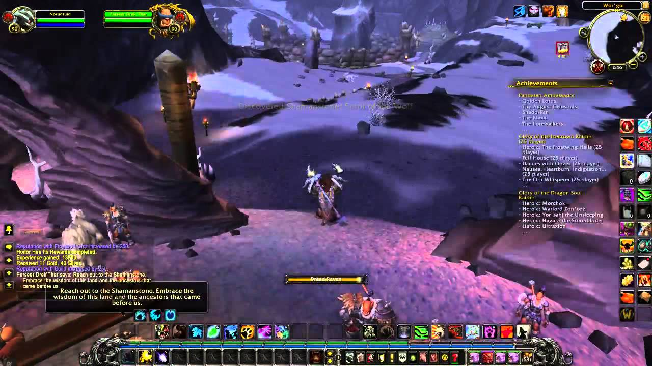 world of warcraft leveling guide 1 90