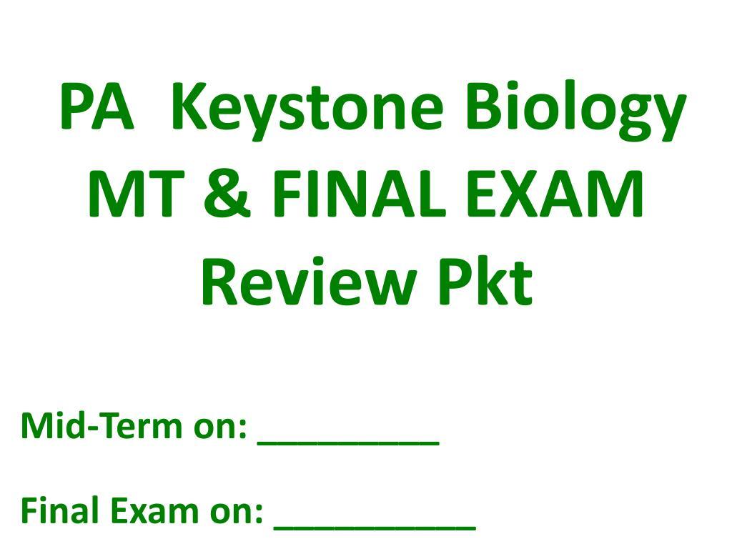 biology 12 final exam study guide