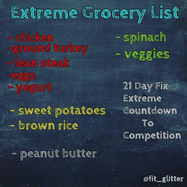 21 day fix eating guide