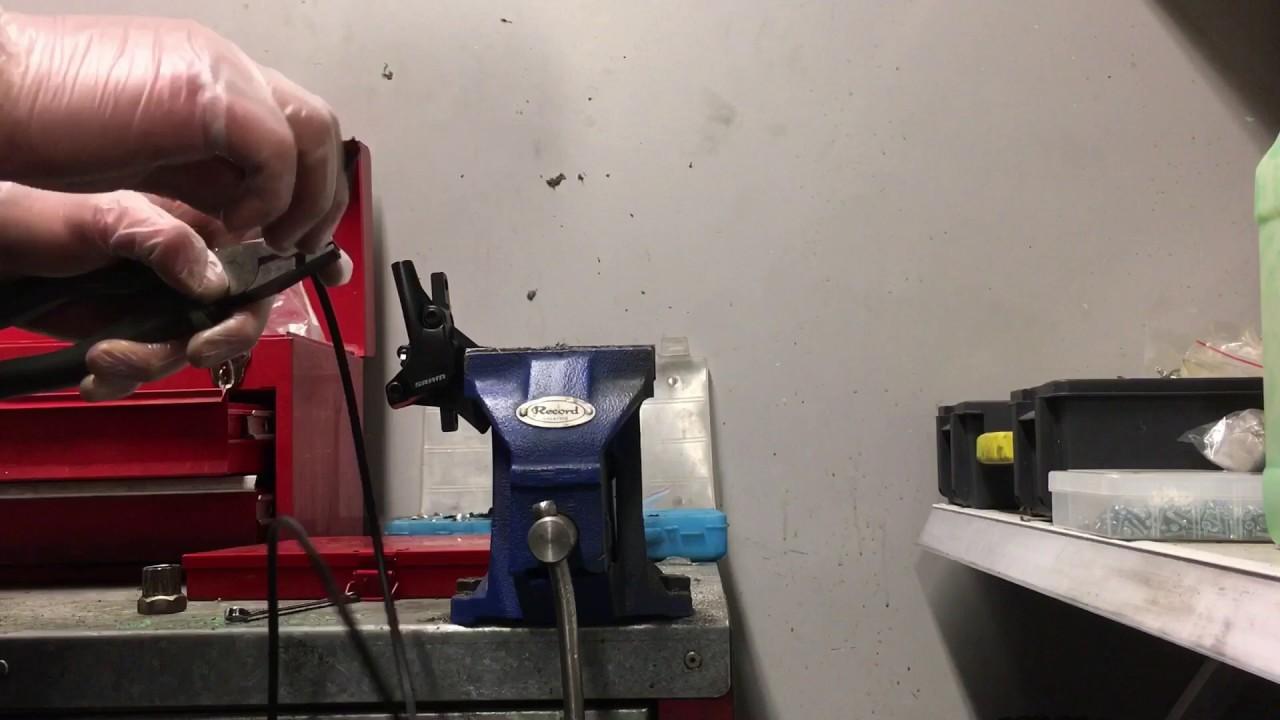 sram guide brake hose shorten