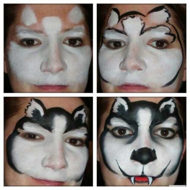 face painting step by step guide