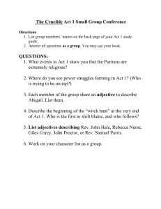 the crucible study guide questions act 1