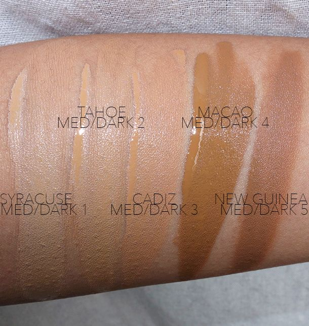 armani luminous silk foundation shade guide