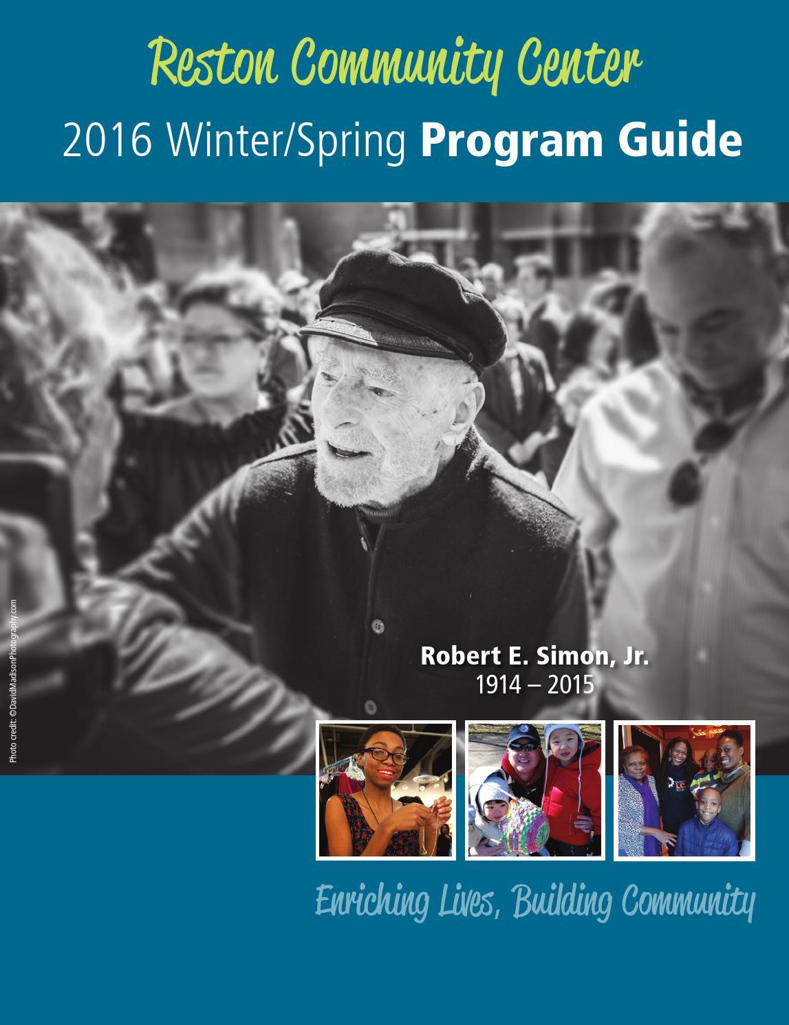 dunbar community centre program guide