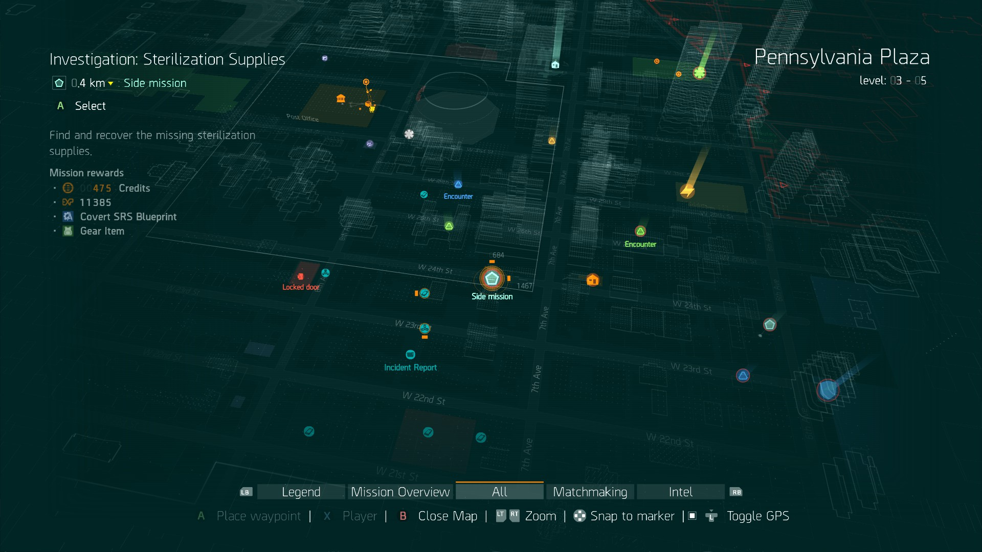 the division survival map guide