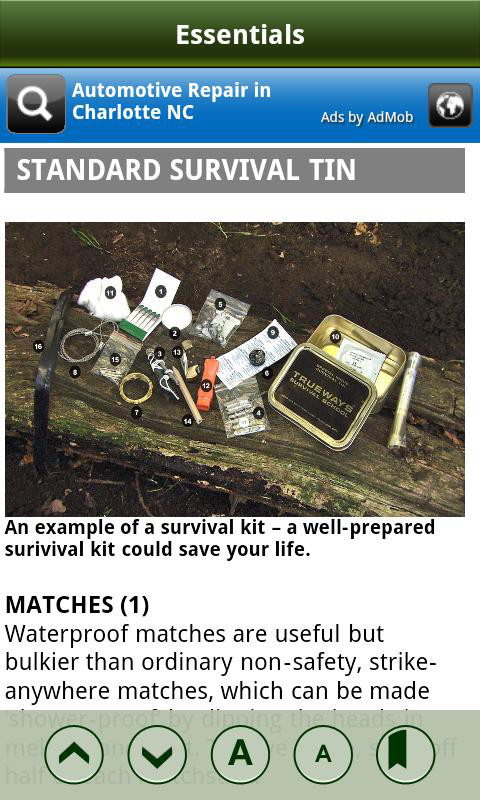 guide de survie en foret pdf