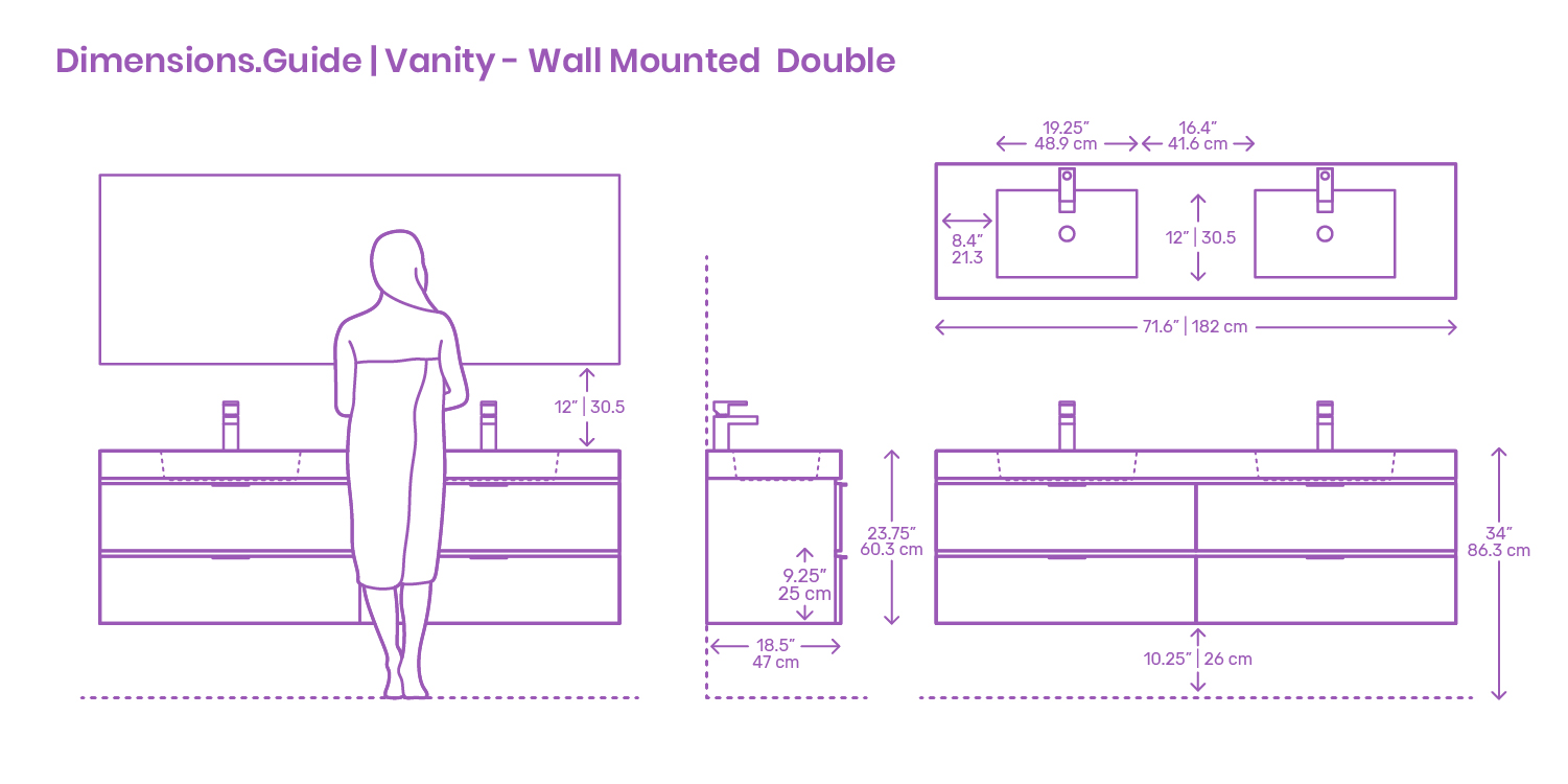 wall hung vanity installation guide