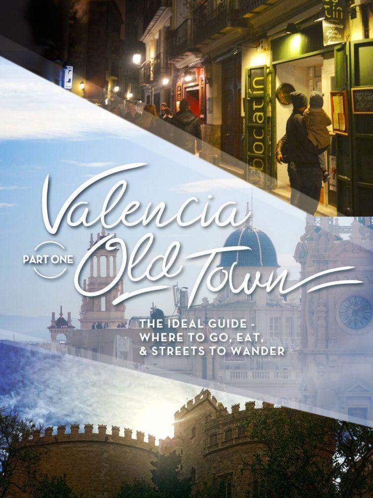 valencia self guided walking tour