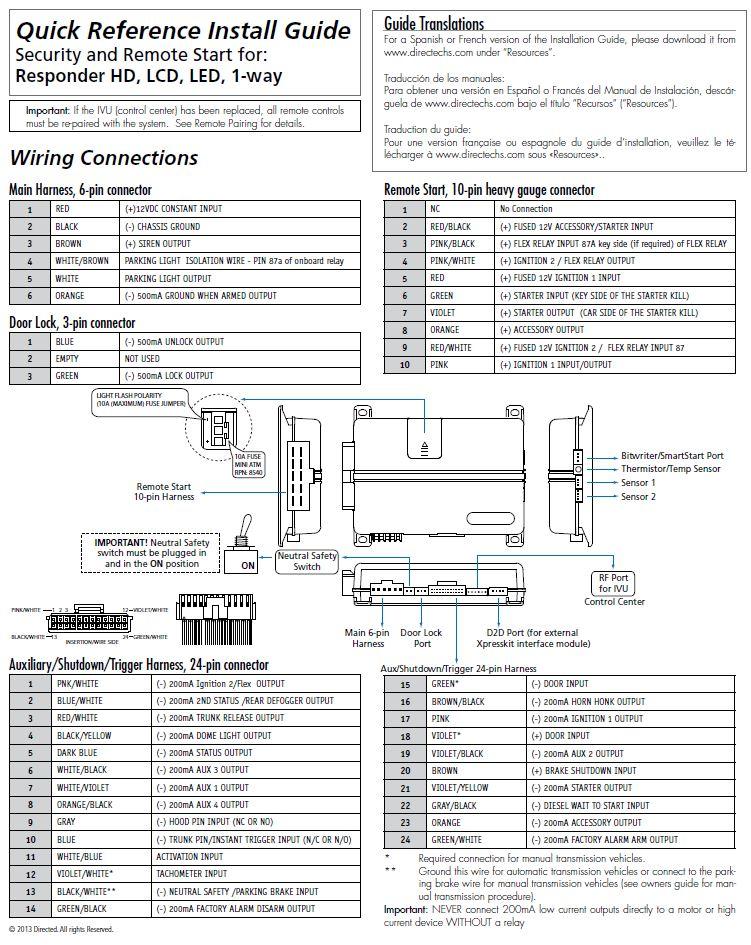 viper smart key install guide