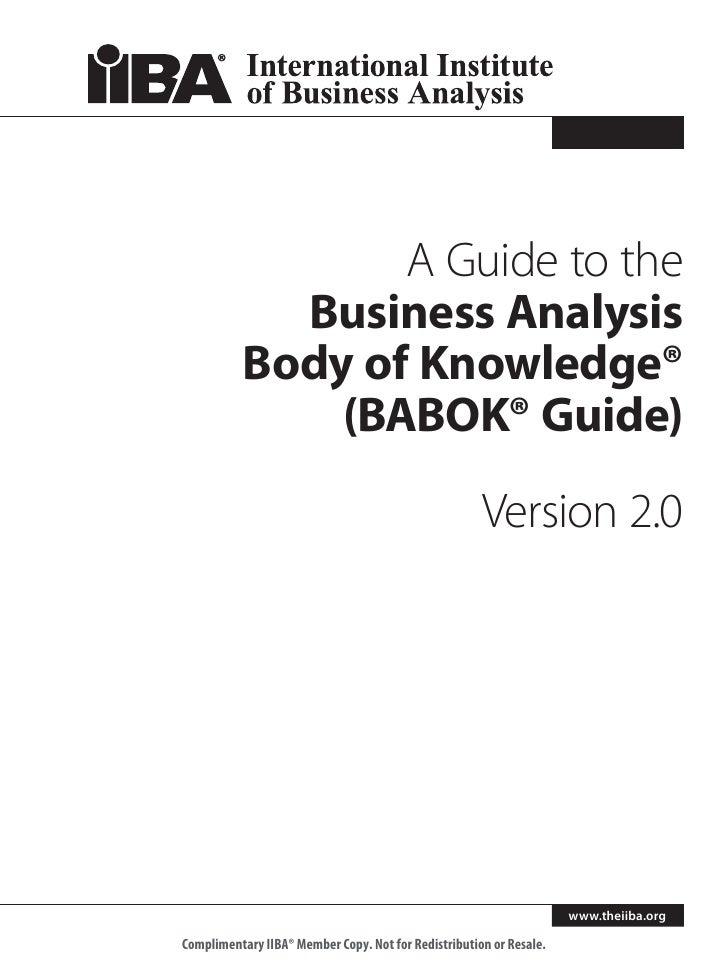 babok guide v3 pdf free download