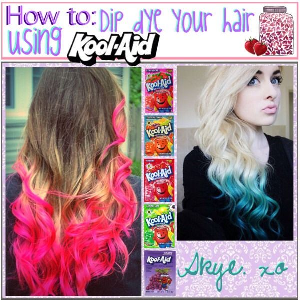 kool aid hair color guide