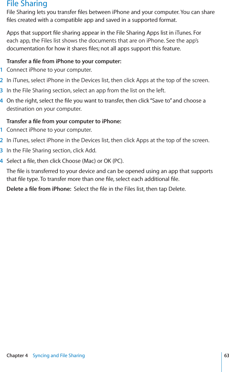 iphone 4s user guide pdf