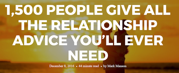 the ultimate relationship guide to end all relationship guides