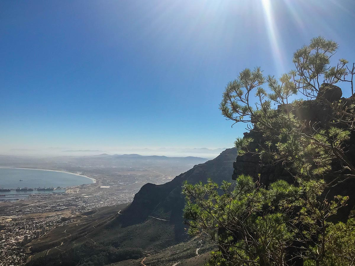 hiking table mountain without a guide