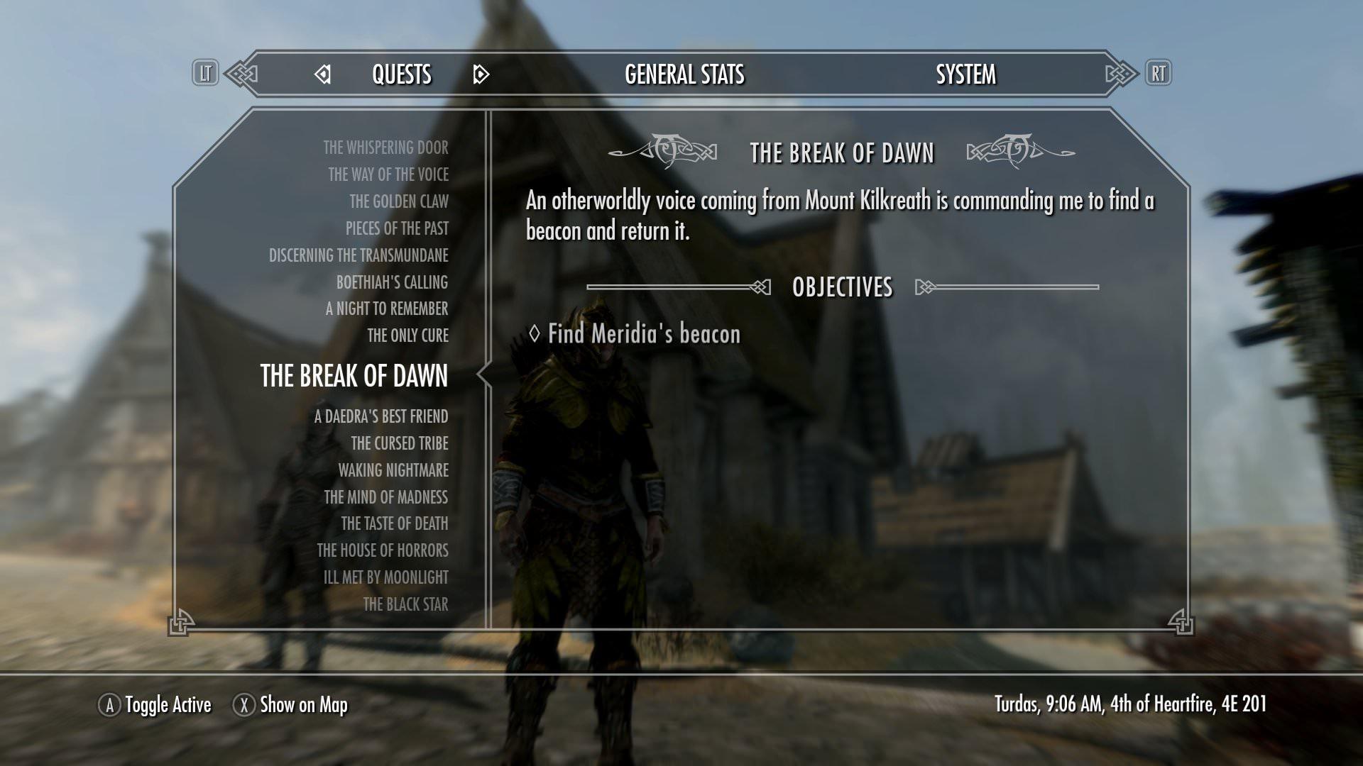 skyrim oblivion walker trophy guide