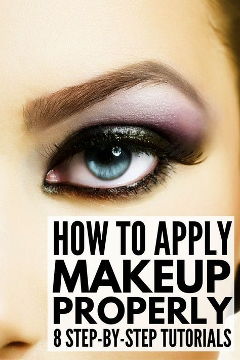 beginners guide to applying makeup