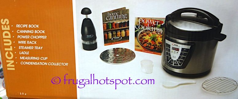 power pressure cooker xl canning guide pdf