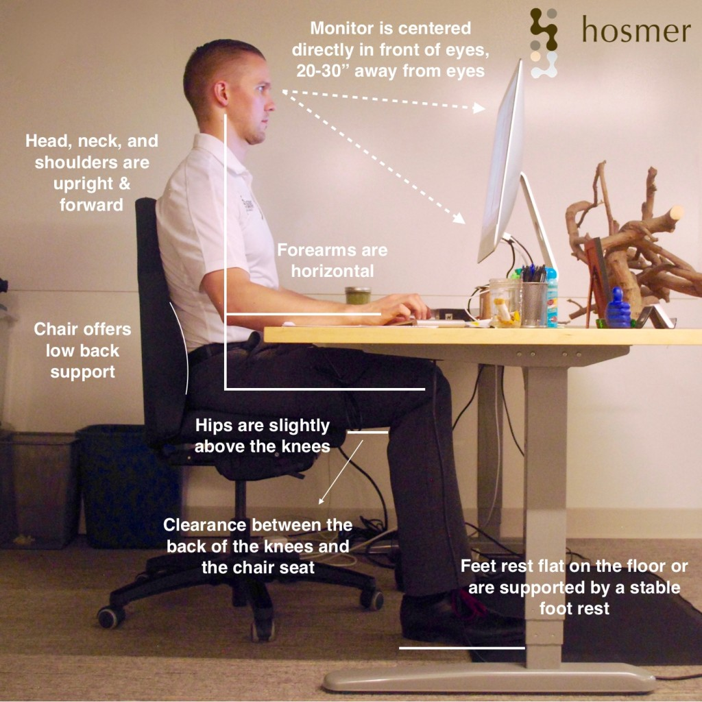 guide to setting up an ergonomic computer station