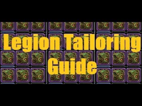 world of warcraft tailoring guide