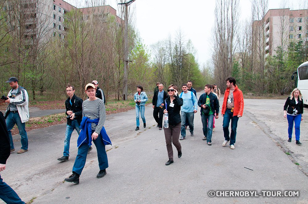 can you visit chernobyl without a guide