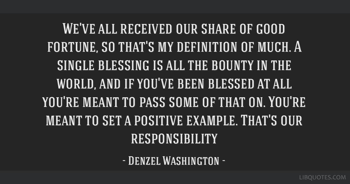 a hand to guide me denzel washington