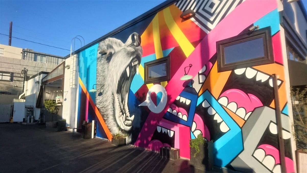 venice self guided walking tour murals