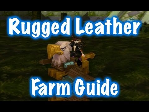 wow leatherworking guide 1 300
