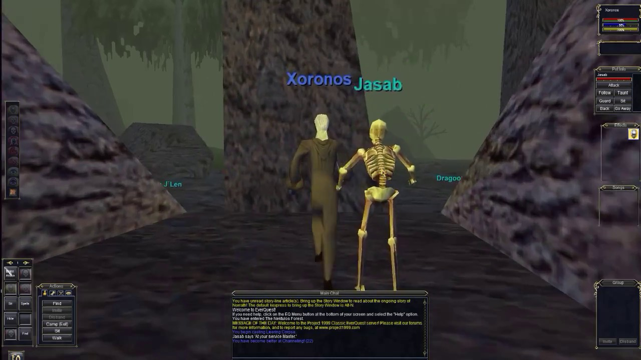 everquest leveling guide project 1999