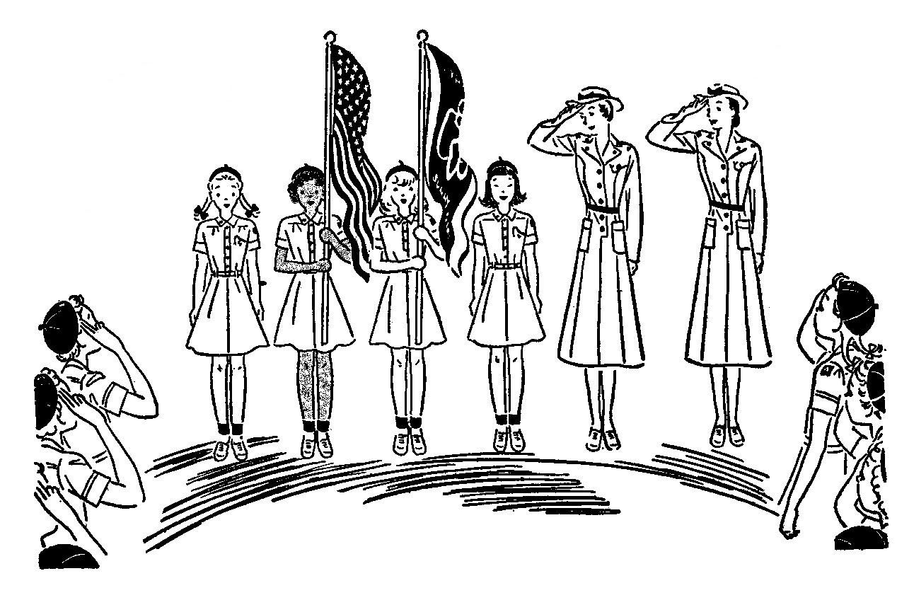 girl guides of canada clip art