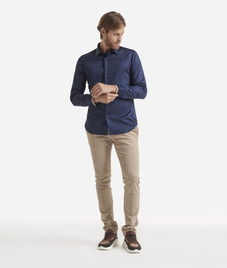 slim fit shirt size guide