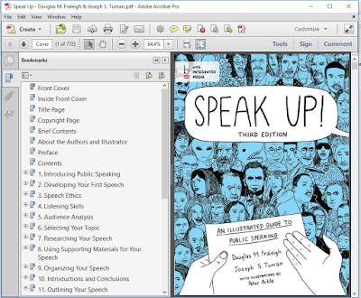 speak up an illustrated guide to public speaking 3rd edition